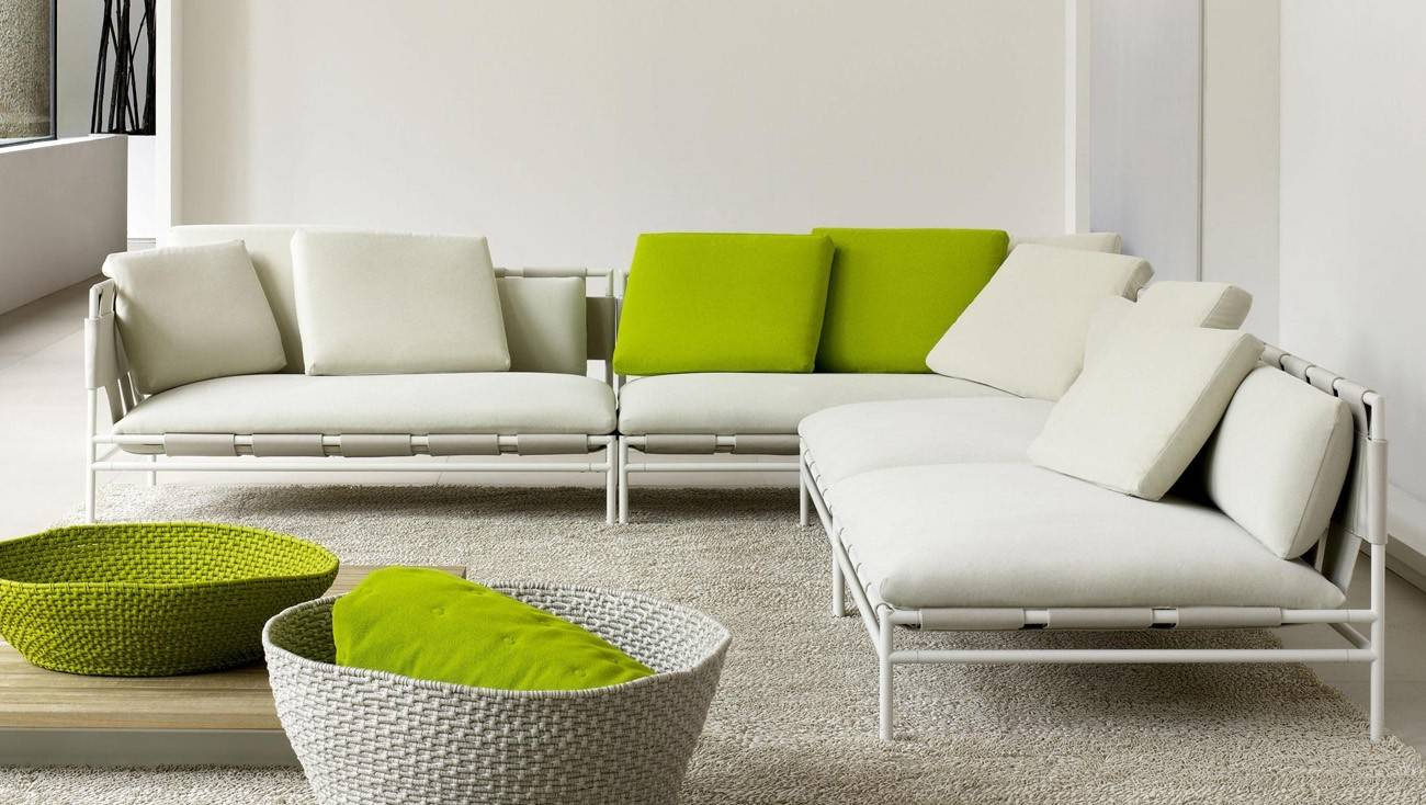 PAOLA LENTI Canvas Sofa