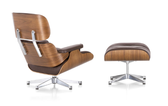 VITRA Eames Loungechair and Ottoman_2