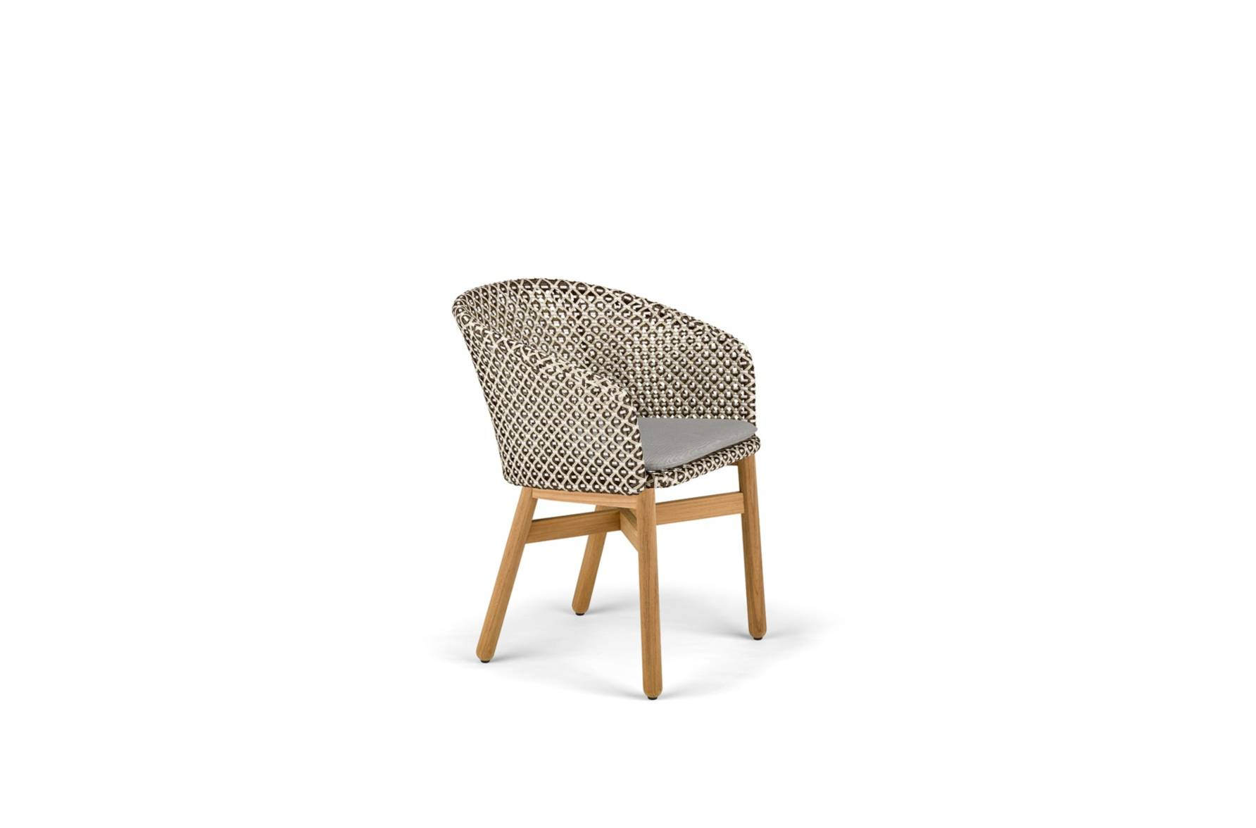 DEDON Mbrace Dining Chair Pepper_1